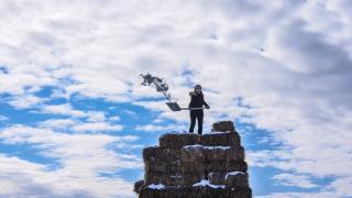 Kars'ta kış etkili oldu
