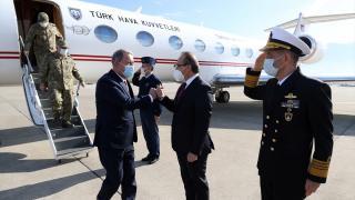 Milli Savunma Bakanı Hulusi Akar, 1. Ana Bakım Fabrikası Müdürlüğünde incelemelerde bulundu