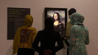 """""""Mona Lisa"""" ve """"Son Akşam Yemeği"""" Senegal'de"""