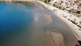 Muğla'da korkutan görüntü: Deniz suyu 20 metre çekildi