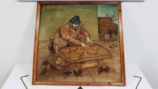 Osmanlı dönemine ait tabloyu satmaya çalışan zanlı yakalandı
