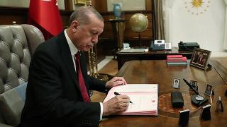 Cumhurbaşkanı Erdoğan'ın yaptığı atama kararları Resmi Gazete'de