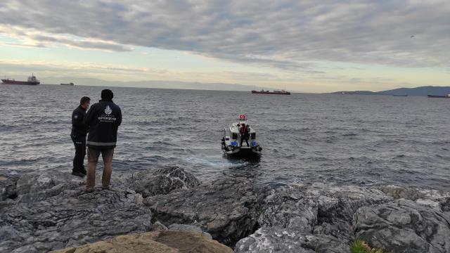 Kartalda denize atladığından şüphelenilen kişi aranıyor