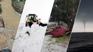Türkiye'de 2020'de 984 sıra dışı hava olayı gerçekleşti