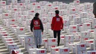Türk Kızılay'dan Afganistan'da 500 aileye gıda yardımı