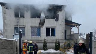 Ukrayna'da huzurevinde yangın