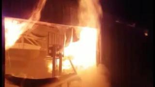 Konya'da çiftlik yangını: 1000'e yakın tavuk telef oldu