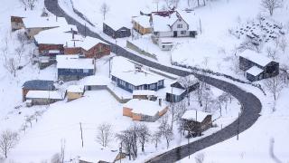 Zigana Dağı'nda kış manzaraları ilgi çekiyor