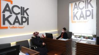 İstanbul'da Açık Kapı'ya geçen yıl 813 bin 260 kişi başvurdu