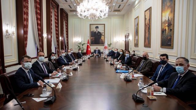 Adalet Bakanı Gül, Avrupa İşkencenin Önlenmesi Komitesini kabul etti