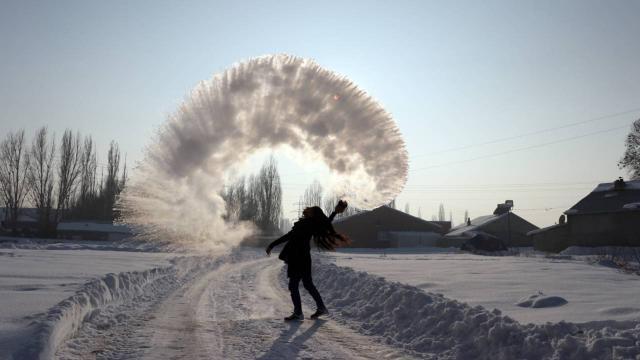 Doğu Anadolunun en soğuk ili eksi 19 dereceyle Ağrı oldu