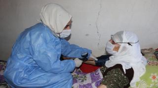 Sağlık ekipleri Bitlis'te aşılama çalışmalarını devam ediyor