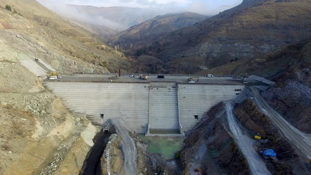 Bahçecik Barajı bu yıl su tutmaya başlayacak