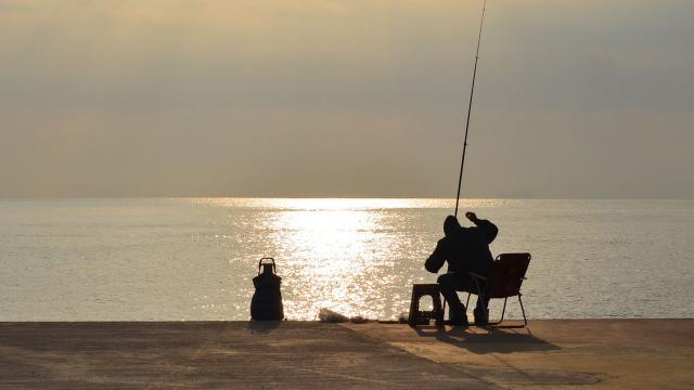 Ruhsatsız balık avlayan kişiye 4 bin 364 lira ceza