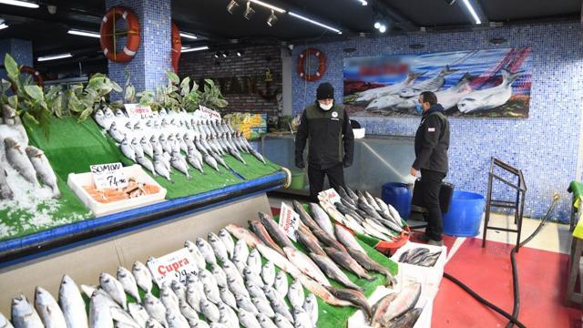Kayseride turna balığı satan işletmeye para cezası