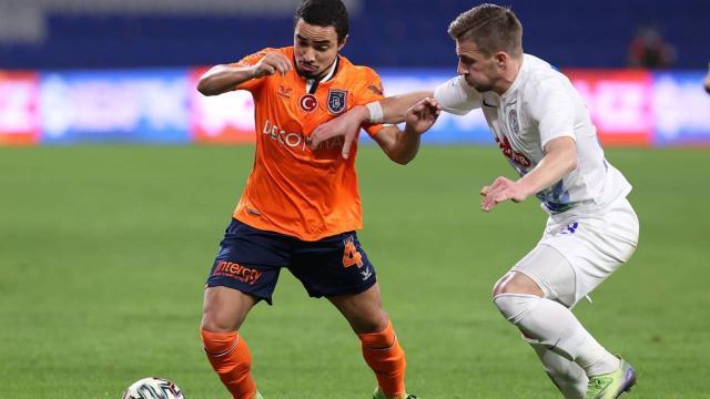 Medipol Başakşehirin galibiyet özlemi üç maça çıktı