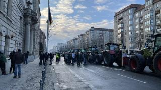 Almanya'da traktörlü protesto: İdeoloji karın doyurmaz