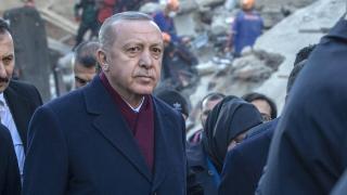 Cumhurbaşkanı Erdoğan'dan 'Elazığ depremi' paylaşımı