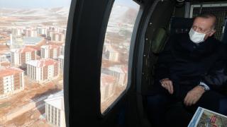 Cumhurbaşkanı Recep Tayyip Erdoğan, Elazığ'da