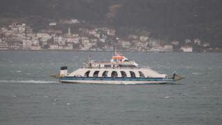Çanakkale Boğazında feribot seferlerinde aksama