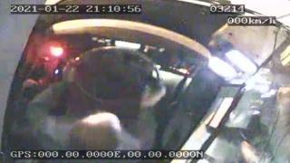 İETT şoförüne saldırı kamerada