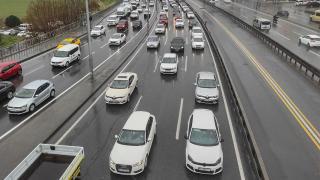 İstanbul'da trafik yoğunluğu yüzde 80'e yaklaştı