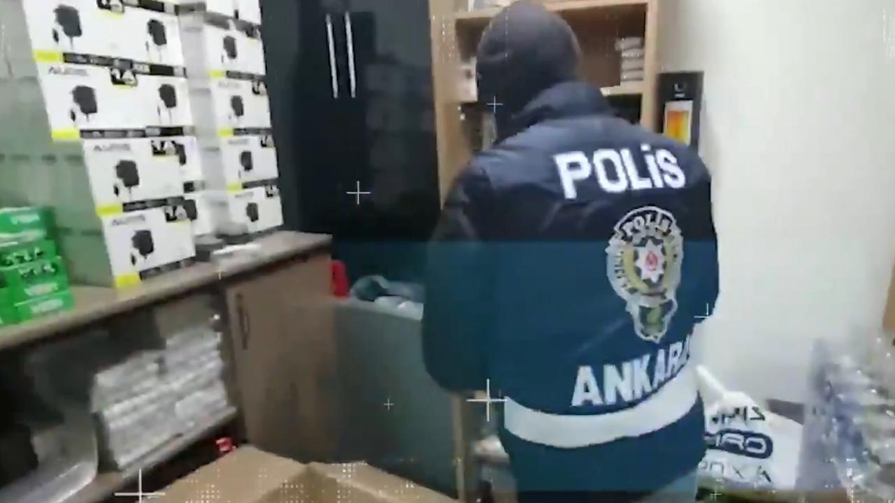Ankara'da kaçakçılara göz açtırılmıyor: 51 gözaltı