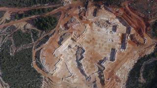 Maden sahaları insansız hava araçlarıyla denetleniyor