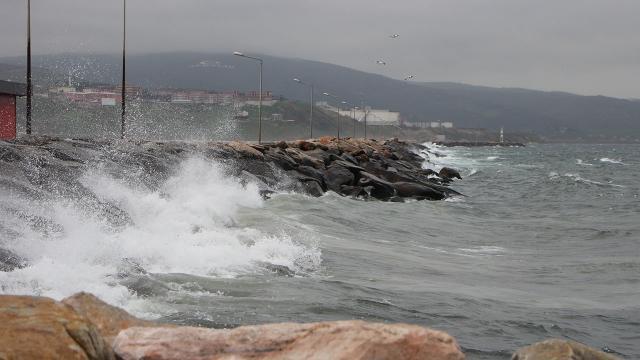Marmarada kuvvetli fırtına bekleniyor
