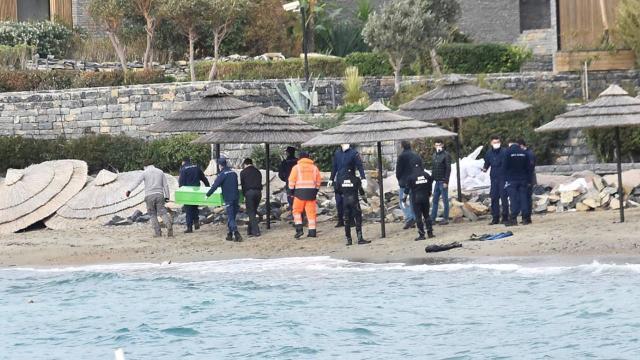 Datçada alabora olan teknedeki kişinin cansız bedeni bulundu
