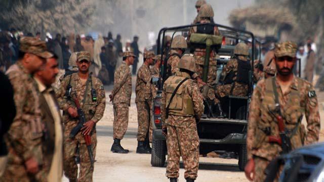 Pakistanda 5 terörist etkisiz hale getirildi