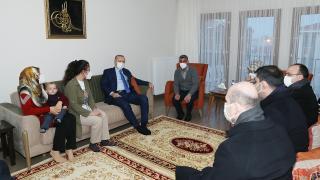 Cumhurbaşkanı Erdoğan, Güne ailesinin evine konuk oldu