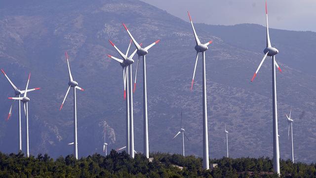 Küresel elektrik üretiminin yüzde 7si rüzgardan