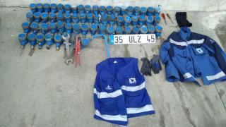 Su sayaçlarını çalan İZSU çalışanı tutuklandı