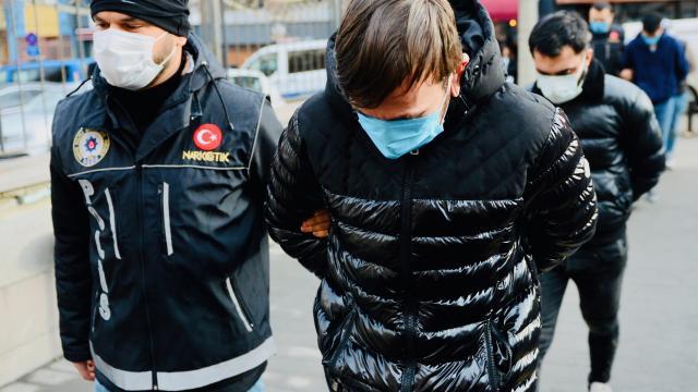 Eskişehirde uyuşturucu operasyonu: 5 gözaltı