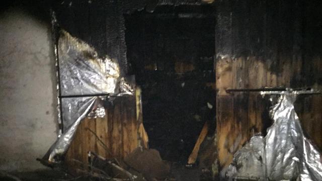 Sakaryada barakada yalnız yaşayan kişi yangında öldü