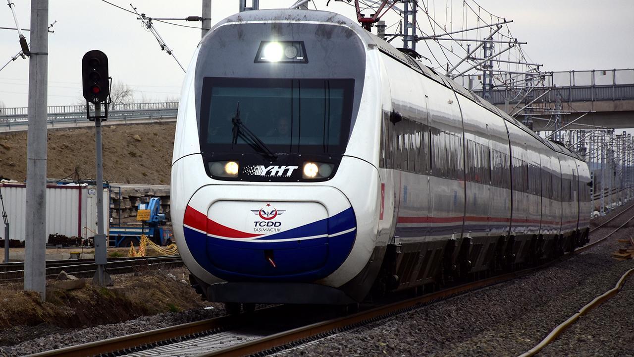 Ankara-Sivas hattında ön test yapıldı