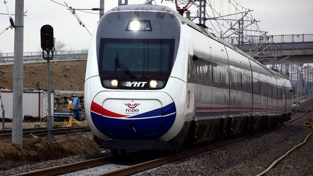 Ankara-Sivas YHT hattında ön test