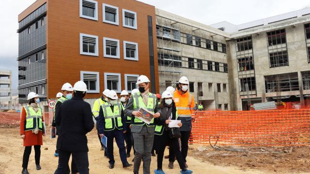 AB fonlarıyla Kilise 300 yataklı yeni hastane