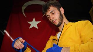 Genç boksörün hedefi dünya şampiyonası