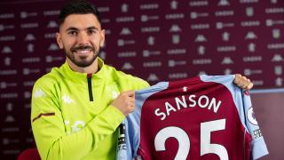 Aston Villa Sanson'u kadrosuna kattı