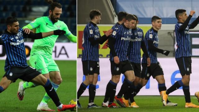 Lazioyu yenen Atalanta yarı finalde