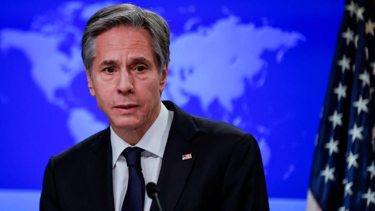 ABD Dışişleri Bakanı Blinken'ın telefon trafiği yoğun