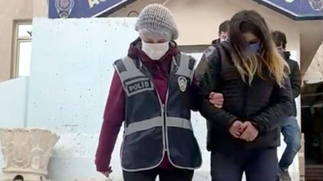 Camiden hırsızlık yapan şüpheliler yakalandı