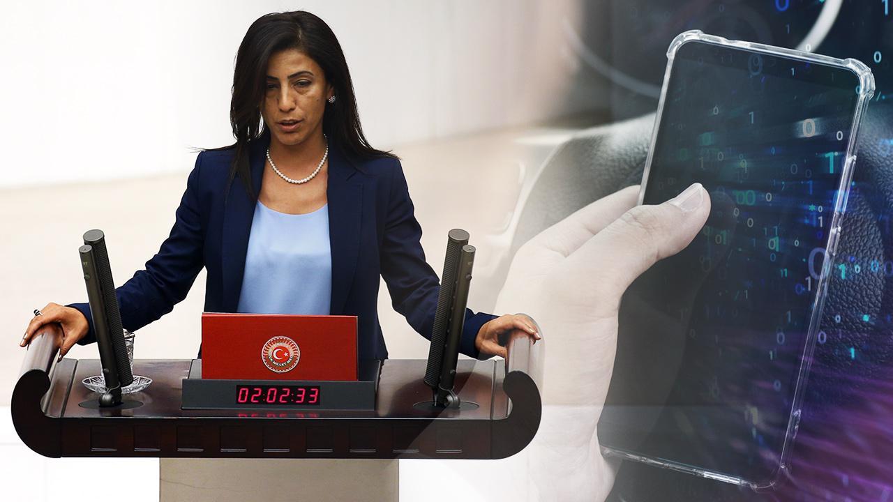 HDP'li vekilin gizlediği telefon çözüldü