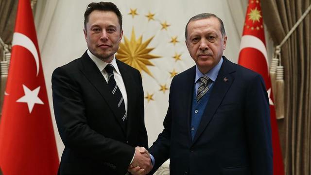 Cumhurbaşkanı Erdoğan Elon Musk ile görüştü