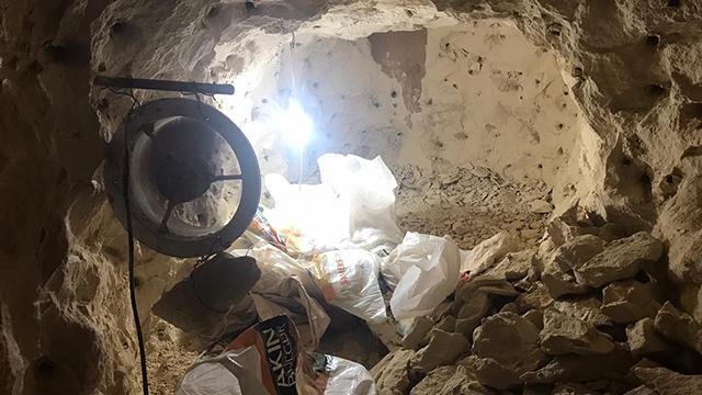 Gaziantepte define için tünel açan şüpheliler suçüstü yakalandı