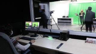 Liselerinde kurulan stüdyodan EBA'ya içerik üretiyorlar