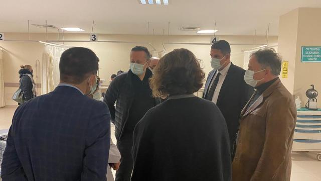 İl Sağlık Müdürü Yıldırım, Sultan 1. Murat Devlet Hastanesini ziyaret etti
