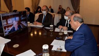 """KKTC Cumhurbaşkanı Tatar'dan Guterres'e """"Kıbrıs'ta iki devletli çözüm"""" mesajı"""